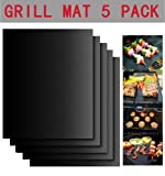 "Amazon Price History for:Augymer BBQ Grill Mat, 12""*16"" Non Stick Reusable Baking Mats Heavy Duty Works On Gas Charcoal Ovens Electric"