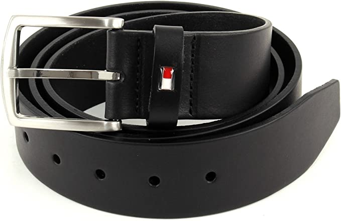 95 Black 090 Tommy Hilfiger New Denton 4.0 Ceinture Homme Noir