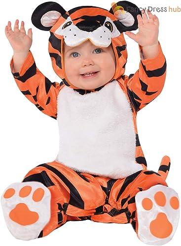 Disfraz de animal para bebé, niña, zoológico o jungla, Tiny Tiger ...