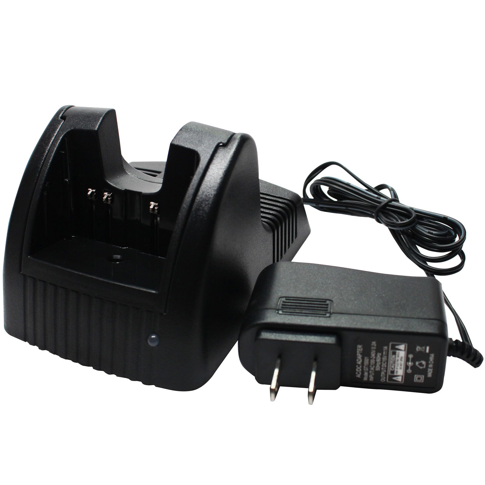 Yaesu FT-60R Charger - Replacement for Yaesu FNB-83 Two-Way Radio Chargers (100-240V) - Also Replaces FT-270R, VX-170, FT-250R, VX-150, FT-277R, VX-420, VX-400, VX-210, FT-250E, VX-180, VX-177, VX-160, VX-127, VX-427, VX-800, FT-60E, Vertex VX-800