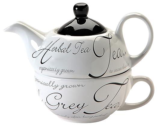 26 opinioni per Price & Kensington Script Tea For One, Tazza e Teiera, colore: Bianco [Importato