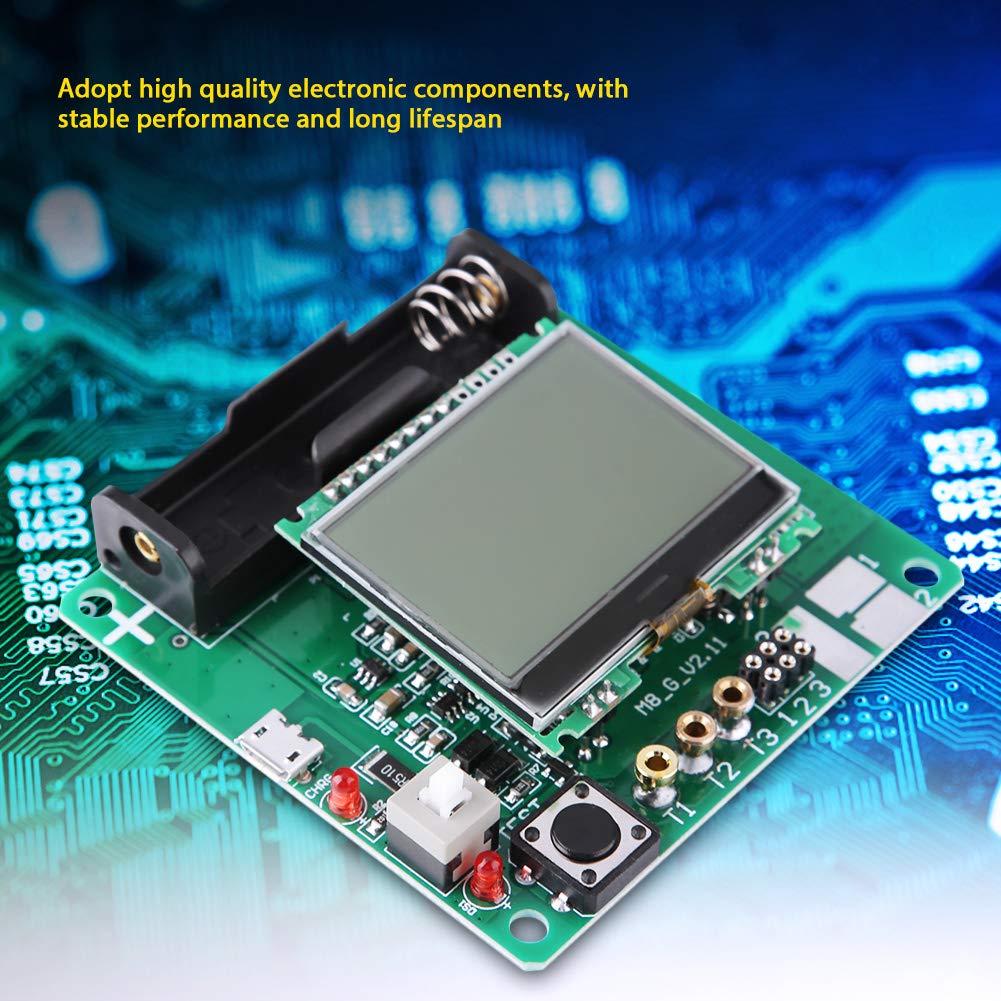 Mega328 LCD Transistor Tester Diode Triode LCR Meter ESR PNP NPN MOSFET Transistor Tester