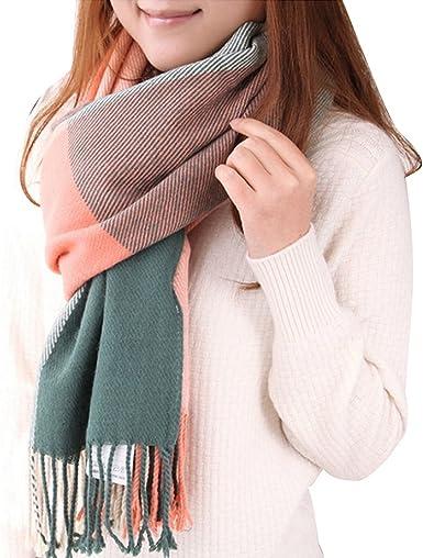 New Women/'s Fashion Winter Scarf Soft Light Warm Cotton Crinkle Scarves Elegant