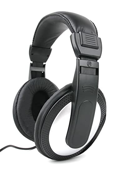DURAGADGET Lightweight, Passive Noise-Cancelling, Over-Ear Headphones for BUSH Sim Free