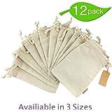 Amazon.com: Solino Home 100% Pure Linen Bread Bags – 8 x 10 ...