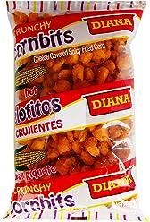 Prodiana Cornbits Hot Snack 4.30 oz - Elotitos Picante