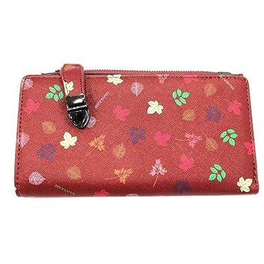 Naj Oleari Cartera mujer bolso central VA3261 - Colore Bordeaux: Amazon.es: Ropa y accesorios