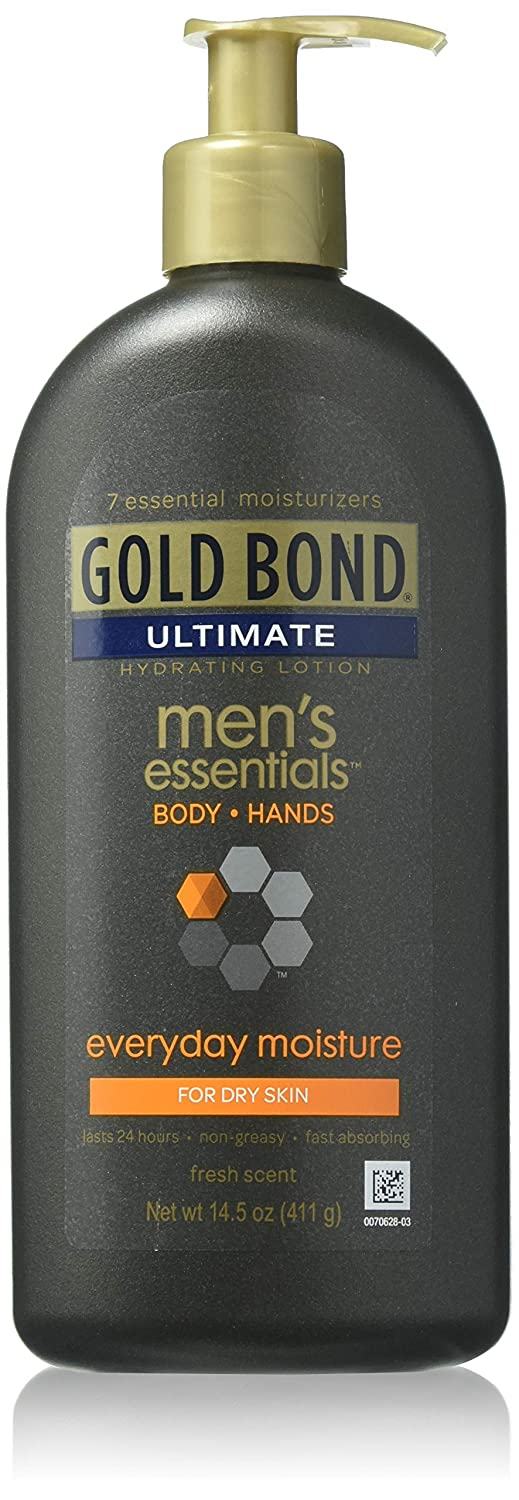 Gold Bond Men's Everyday Essentials Lotion, 14.5 Ounce Chattem Inc. Gol-3650
