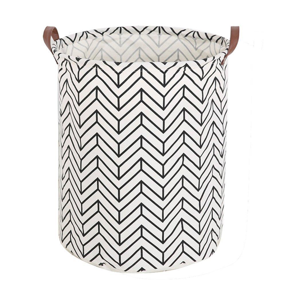 borsa mare made in Italy by Limac Design/®. contenitore per giochi ERIKA 60: Portabiancheria in fibra di cellulosa colore Marrone con sacco in cotone removibile cesta per biancheria