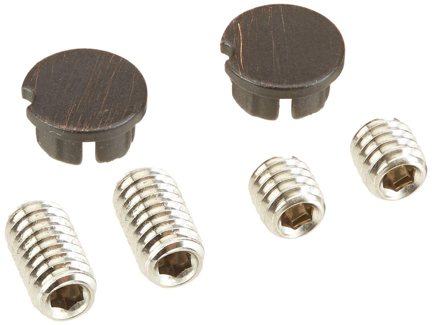 Delta Faucet RP51095RB 14S Set Screw and Button-Vero, Venetian Bronze