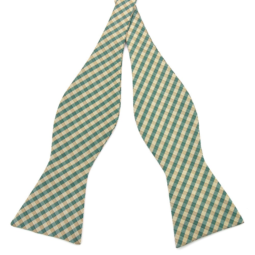 Pensee Mens Self Bow Tie Plaids & Checked Jacquard Woven Silk Bow Ties-Various Colors PSA06-135
