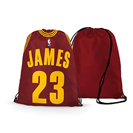 the latest b0542 8a859 GF-sports store NFL Football Team Logo Drawstring Backpack Gym Bag - Pick  Team (Cleveland-Cavaliers James)