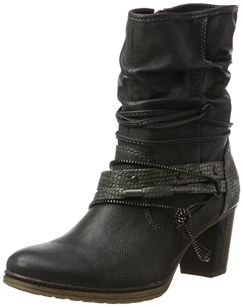 Mustang Botas de Las Mujeres 36 37 38 39 40 41 Gris 7cm 1199-506-259 el Párrafo: Amazon.es: Zapatos y complementos