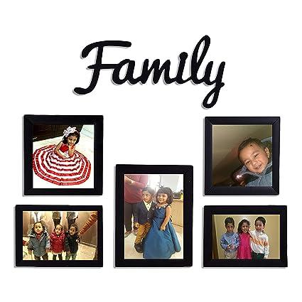 Buy PPD Set of Frames for Wall Family Set of Photo Frames Family set ...