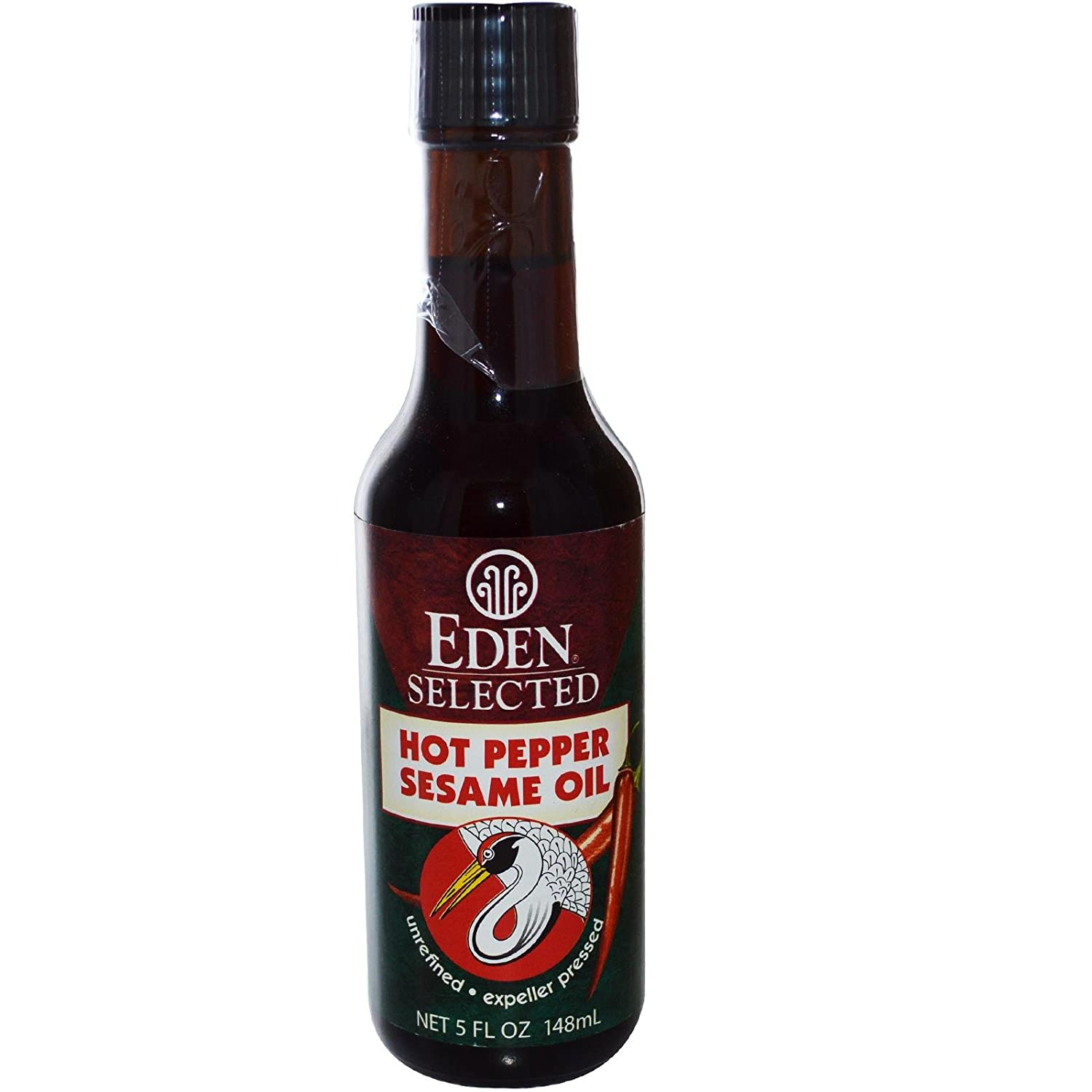 Eden Foods Sesame Oil, Hot Pepper, 5-Ounce