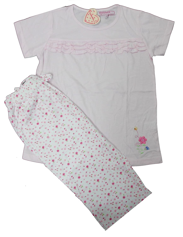 Size 10-12-14 Years Tasidaben Girl 2 Piece Pajama Capri Set 100/% COTTON