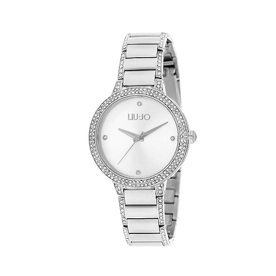 orologio solo tempo donna Liujo Brilliant trendy cod. TLJ1281  Amazon.it   Orologi 6a009f76314
