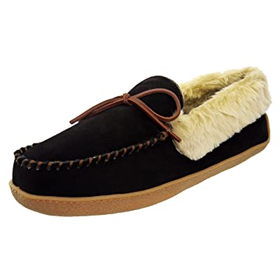 Tamarac by Slippers International Men's Justin Memory Foam Moccasin Slippers | Slippers