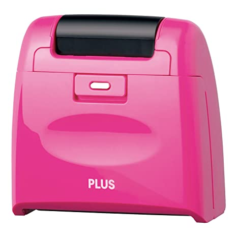 PLUS Kespon Guard Your Id Roller Stamp Pink
