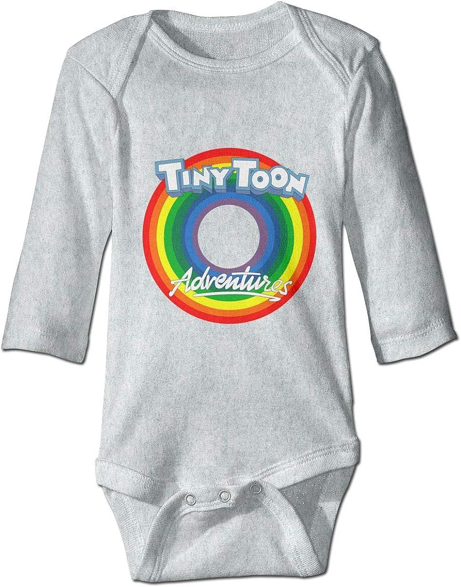 Xuanuan Loo-ney Tunes Newborn Unisex Baby Boy Girl Long Sleeve Bodysuit Shirt Cotton Onesies Romper Outfits 0-24 Months