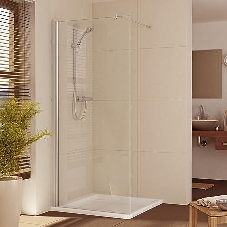 Mampara de ducha Walk in - mejor marcas-los comerciantes de calidad alemana!, B: 75 cm -120 cm - un precio!: Amazon.es: Hogar