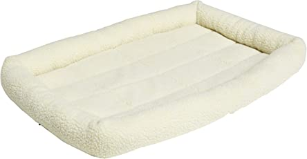 Amazon Basics Cama de almohadón Acolchado para Mascota, 89 cm x 56 cm x 6 cm