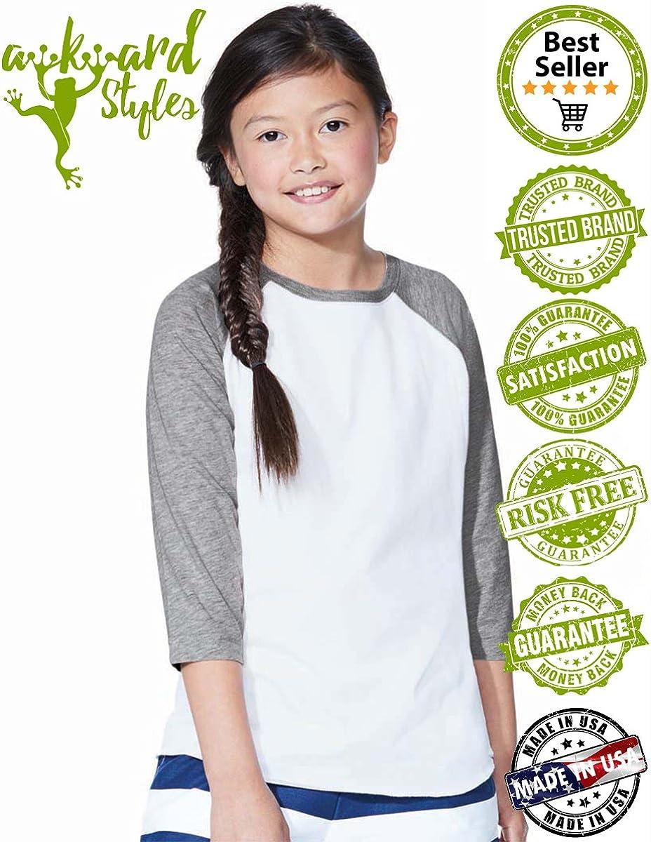 Awkward Styles Shark Raglan for Boys 8th Birthday Party Shark Lover Gifts Shirt for Girl