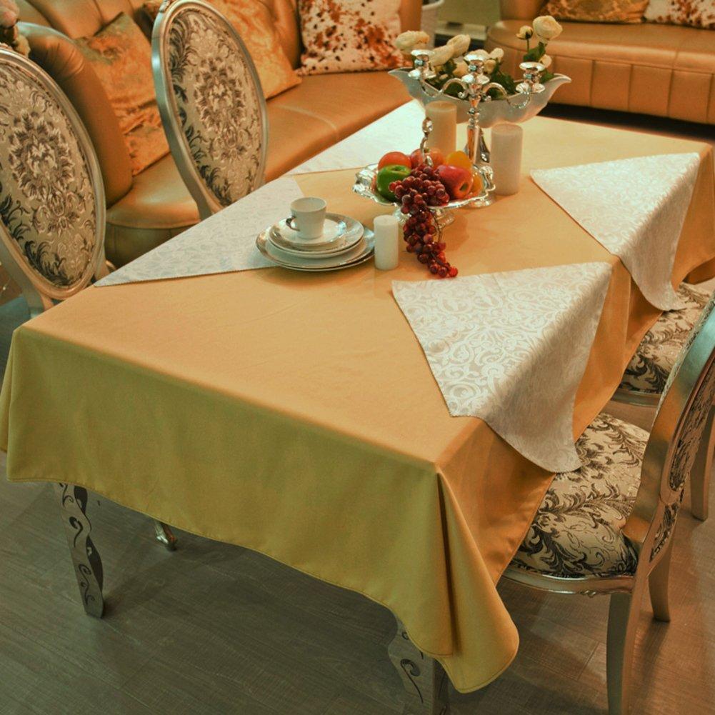 DE Runde tischdecke für Hotels,Cloth-Style europäischen esstisch Square tischtuch-B Durchmesser340cm(134inch) D 120180cm