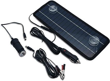 MASO Chargeur de batterie de voiture 4,5 W 12 V pour bateau