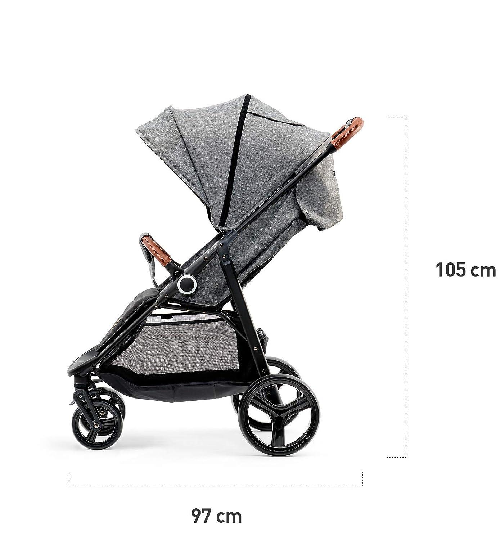 kk Kinderkraft GRANDE Kinderwagen Buggy Stubenwagen schwarz
