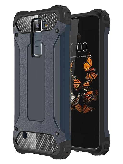 6 opinioni per Custodia LG K8, Pasonomi LG K8 Custodia Resilient [Rugged Armor] Doppio Strato