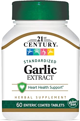21st Century Garlic odorless Tablets, 60 Count