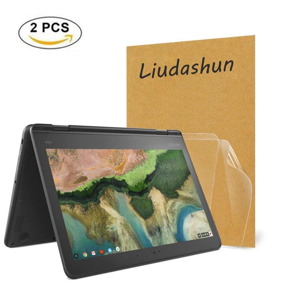 Screen Protector For Lenovo 300e Chromebook,HD Clear LCD Anti-Scratch Anti-Fingerprints Guard Film For 11.6'' Lenovo 300e Chromebook 2-in-1 Laptop(2-pack)
