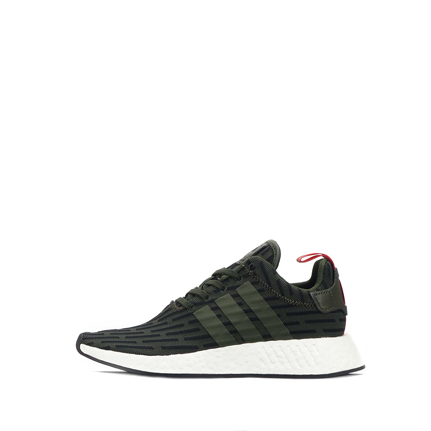 adidas Originals NMD_R2 Mens Running Trainers Sneakers B074KWL3JH 8.5 D(M) US|Green Black White By2500