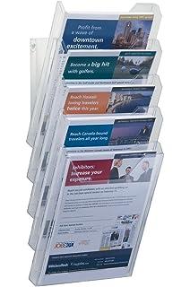 Durable 8586/19 - Set de cajas archivadoras/revisteros de pared A4 XL (