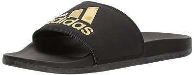 2f804eff3bf8 Amazon.com  adidas Women s Adilette CloudFoam Slide  Shoes