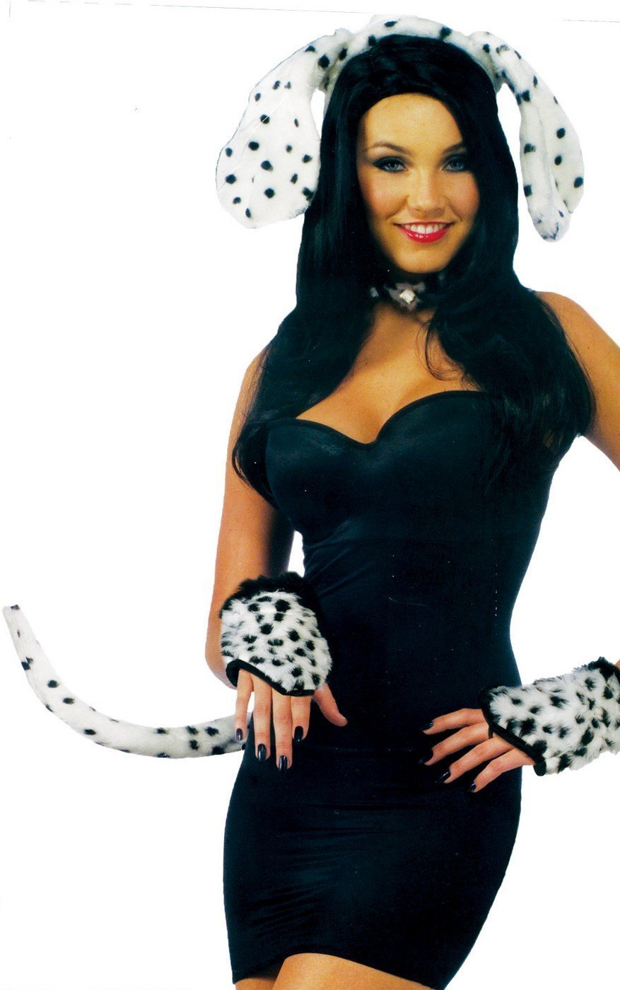 Forum Novelties Women's Dalmatian Ears and Tail Set Multi Standard Forum Novelties Costumes 68792