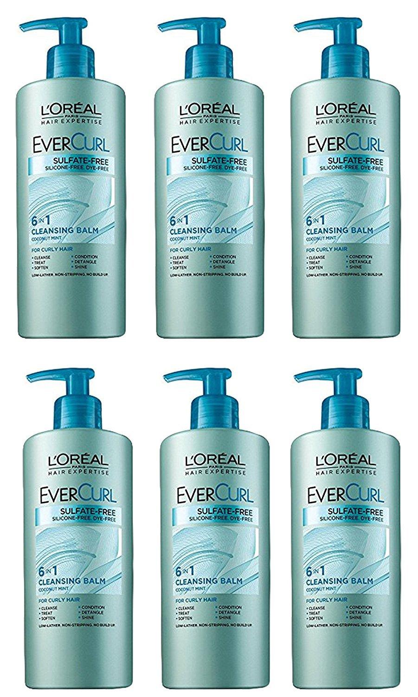 L'Oréal Paris EverCurl Cleansing Balm, 16.9 fl. oz. (Pack of 6)