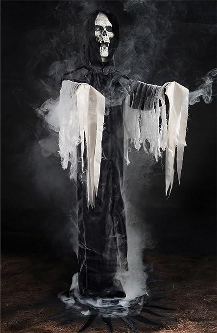 Amazoncom Life Size Standing Reaper Fog Machine Accessory Zombie