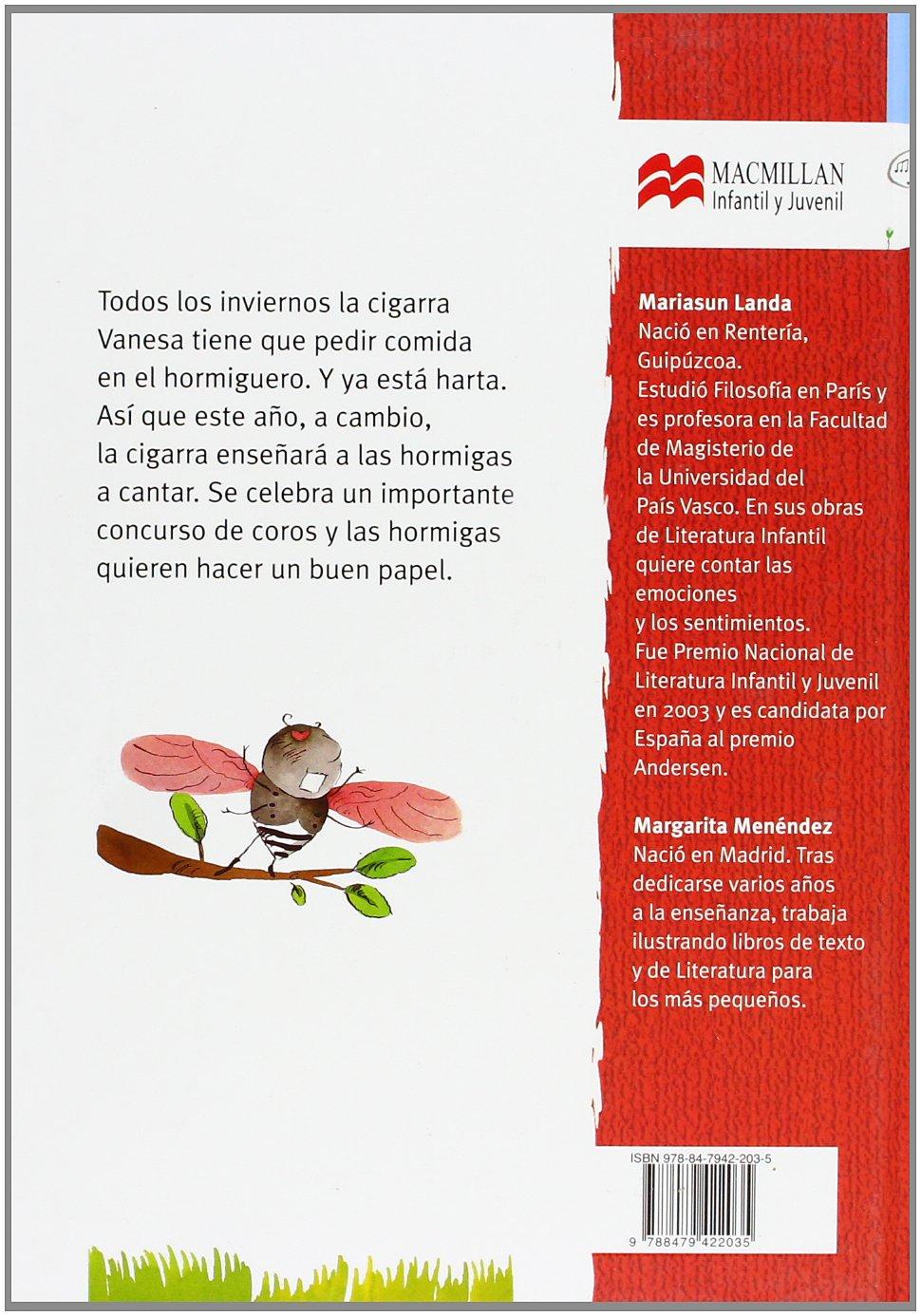 Amazon.com: El invierno de la cigarra Vanesa (Librosaurio) (Spanish Edition) (9788479422035): Mariasun Landa, Margarita Menéndez: Books