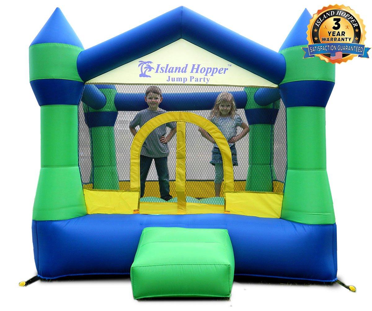 Island Hopper Jump Party Recreational Bounce House Kids Bouncy Castle