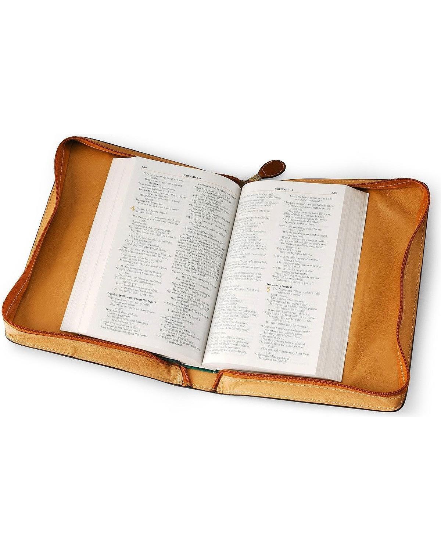 3 D Belt Company Cubierta natural de 3D para Biblia Talla única Broncearse: Amazon.es: Oficina y papelería