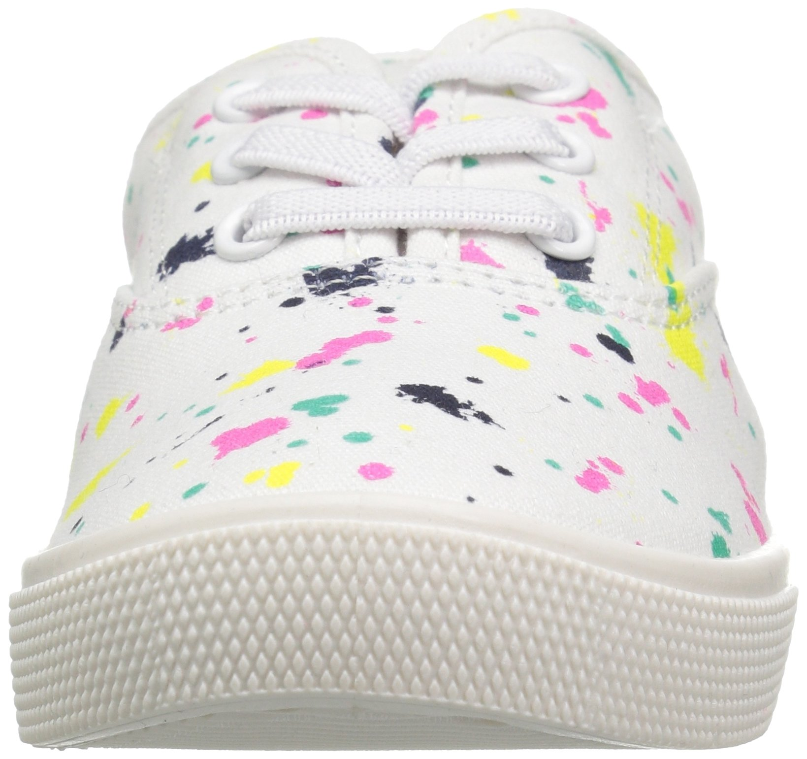 Carter's Piper Girl's Casual Sneaker, White/Print, 3 M US Little Kid by Carter's (Image #4)