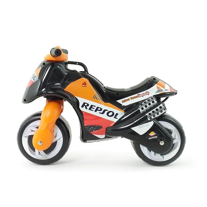 INJUSA - Moto correpasillos Neox Repsol para niños de 18 meses con decoración permanente IML y asa de transporte Neox (1901/000): Amazon.es: Juguetes y ...