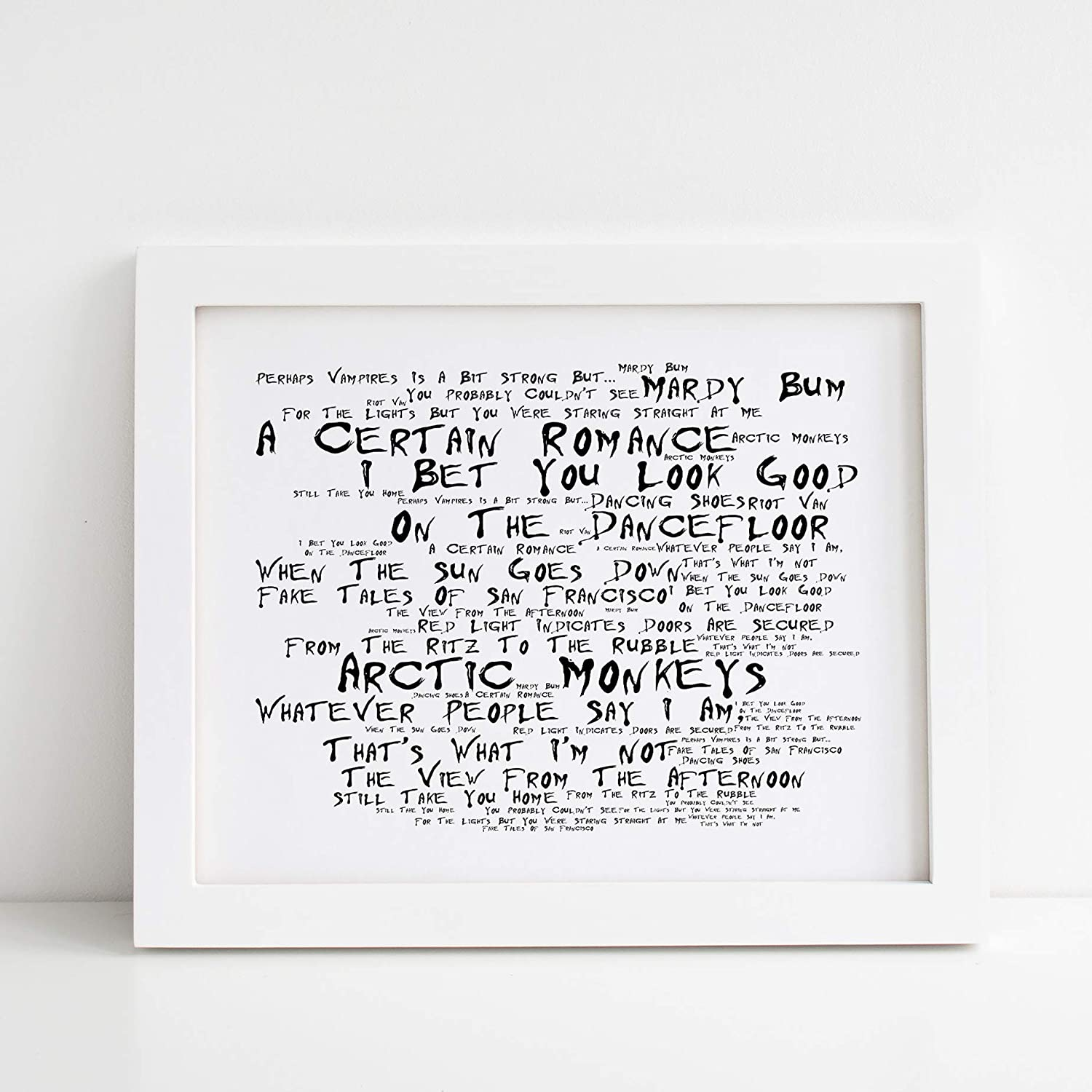 Arctic Monkeys Poster Print - Whatever People Say I Am, Thats What ...