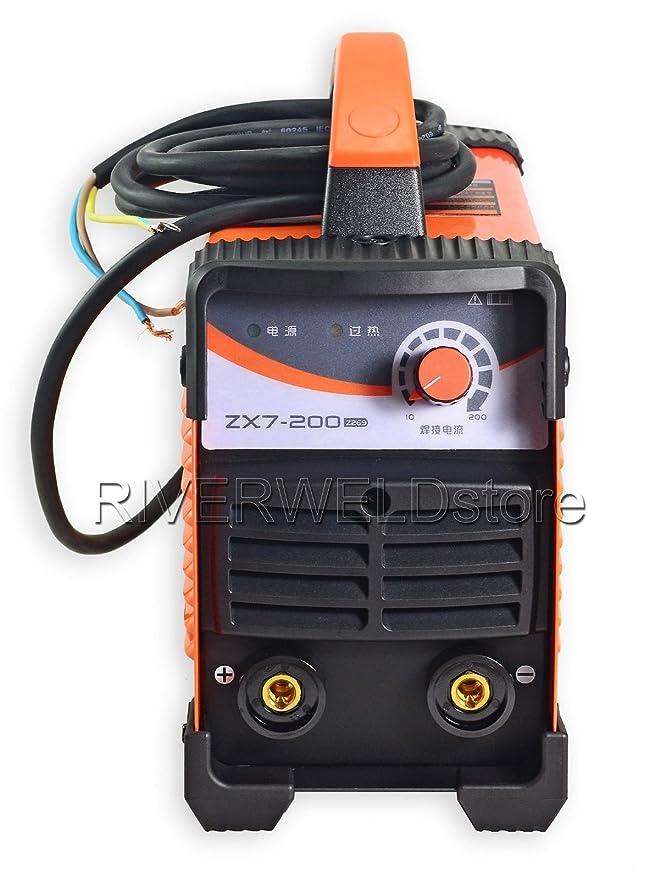 IGBT ZX7?200 DC Inverter MMA arco máquina manual soldador: Amazon.es: Bricolaje y herramientas