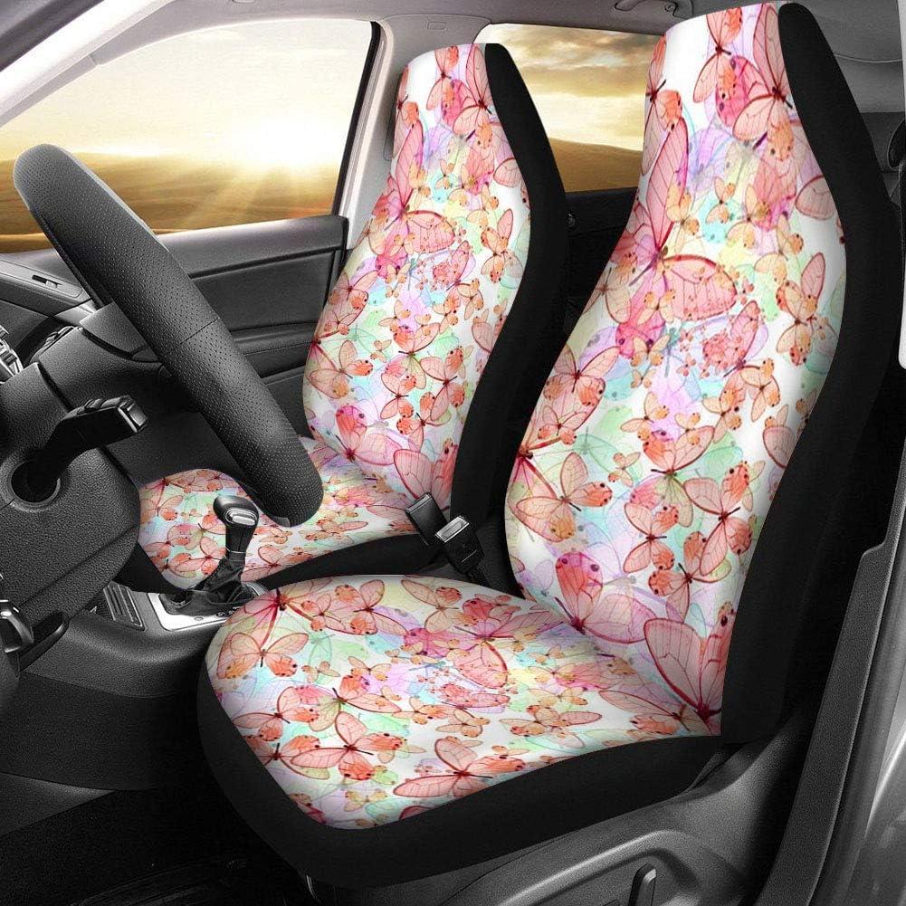 Sugar Skull 3D Print Auto Seat Covers Floral Vehicle Seat Protector Car Mat Cover/£/¬Fit Most Cars Sedan SUV,Van