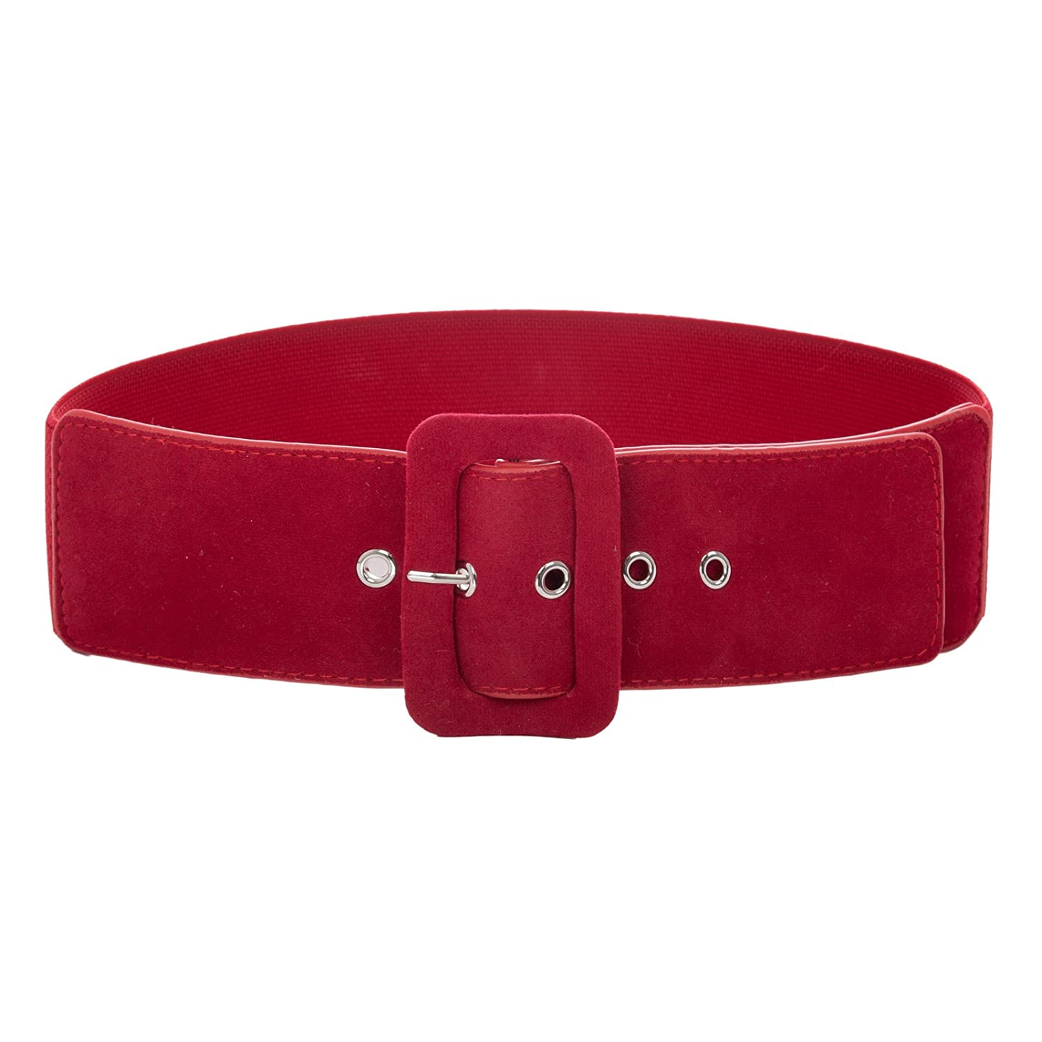 Belle Poque Ladies Vintage 2.36 Inches Wide Stretchy Belt Waistband GF751