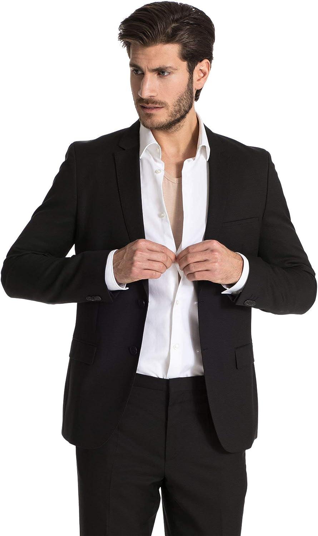 FINN Business Herren Unterhemd Kurzarm mit V-Ausschnitt Micro-Faser Unterziehshirt M/änner