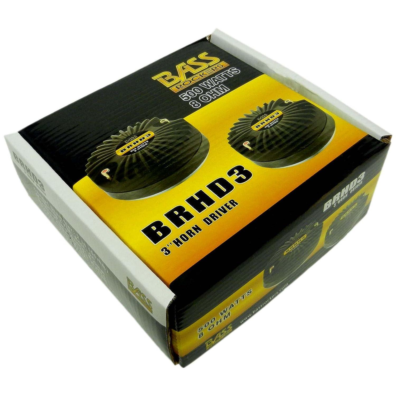 BRHD3 Bass Rockers 500W RMS 8-Ohm 3 Titanium Horn Driver